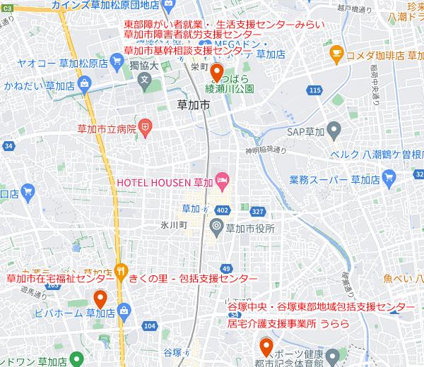 【相談事業 地図】